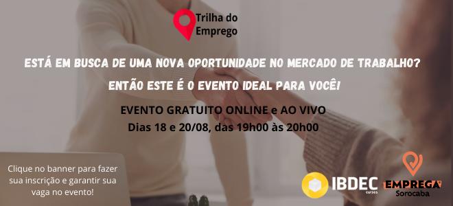 TRILHA DO EMPREGO IBDEC – HOME