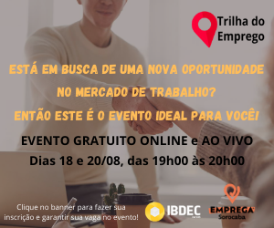 TRILHA DO EMPREGO IBDEC – LATERAL